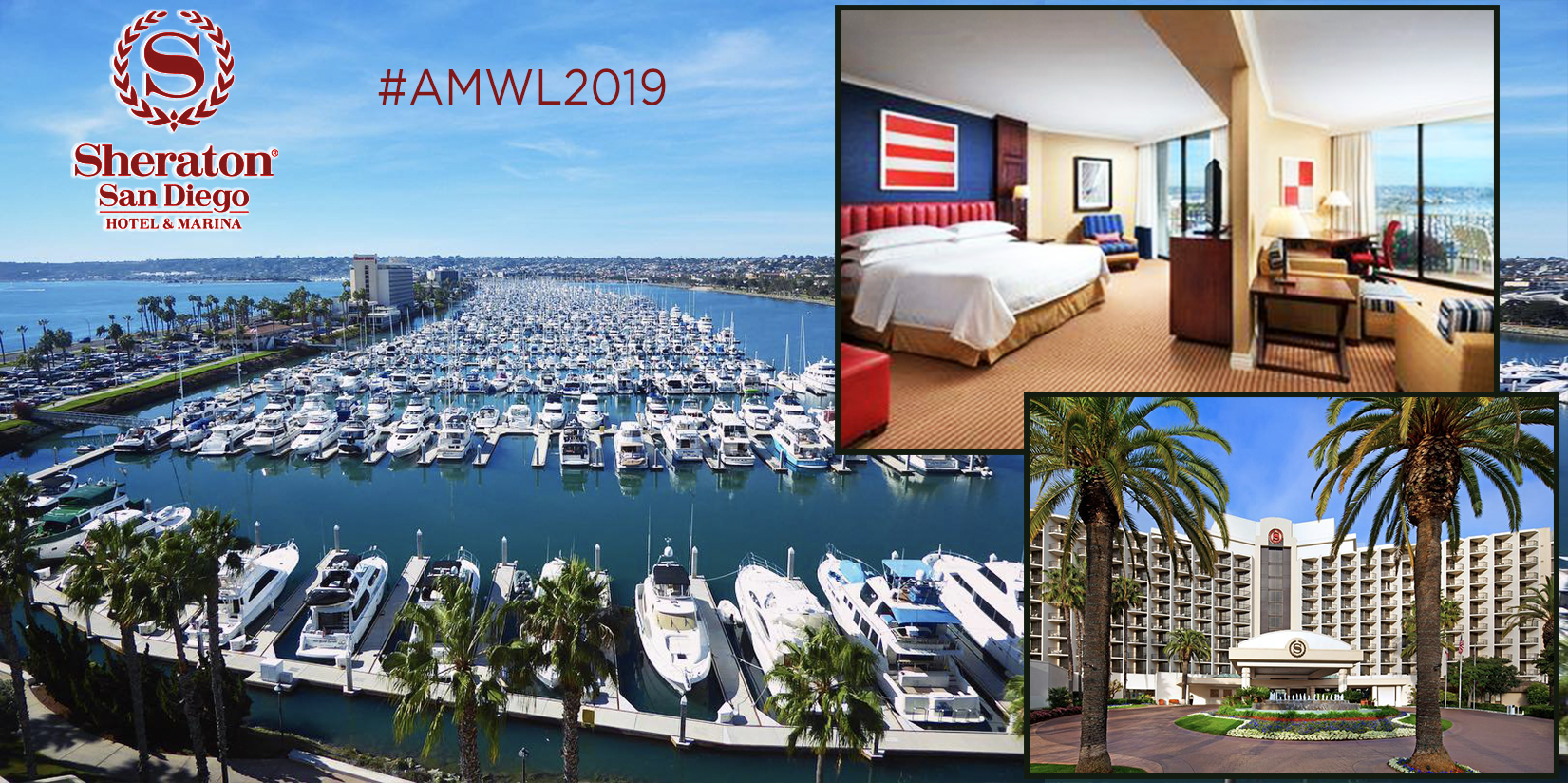FAQ 3 - Is There A Hotel Block or Discount Code For This Event? Yes, use code AMWL2019 when booking your room.